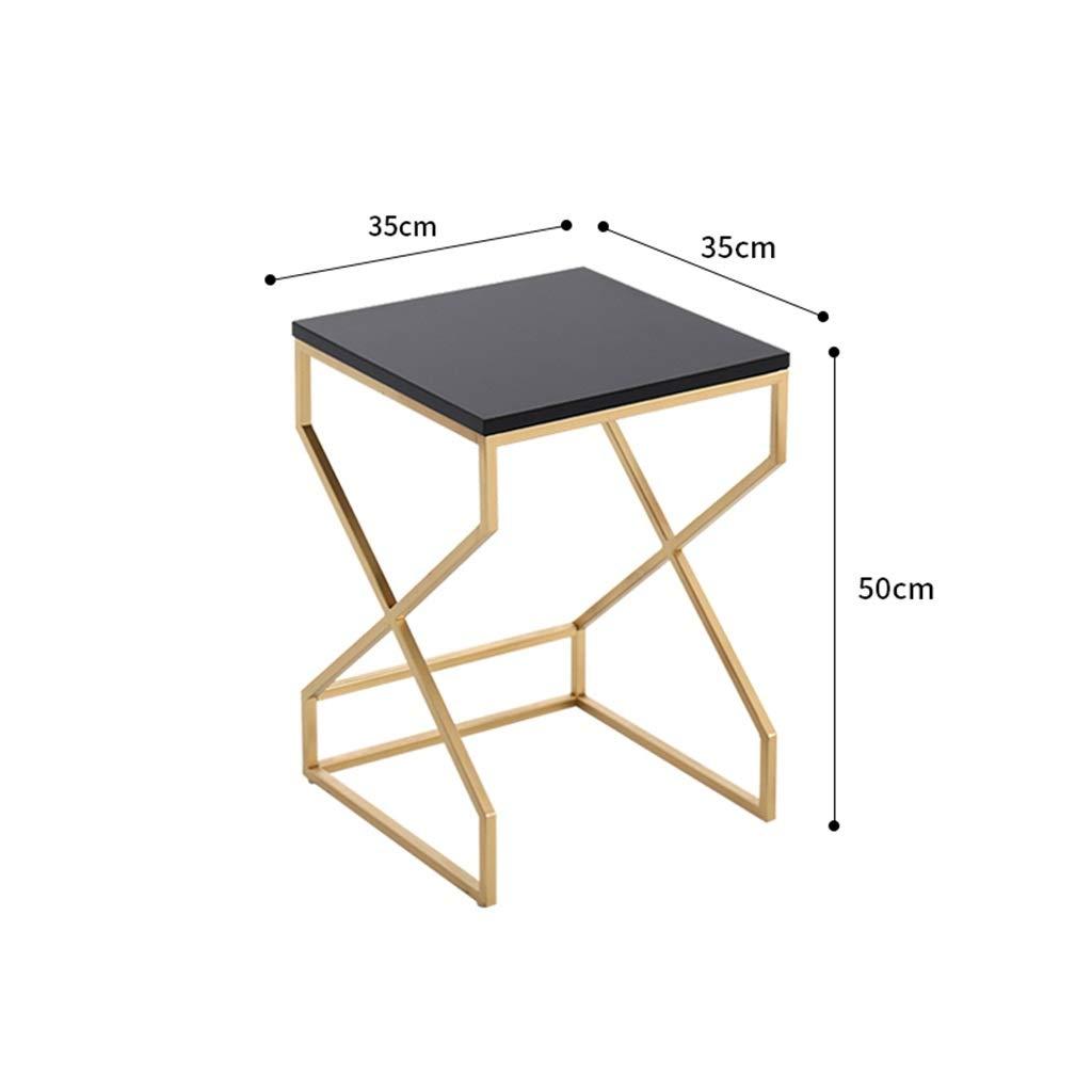 Amazon.com: Mesa auxiliar de café/hierro forjado, mesa de ...