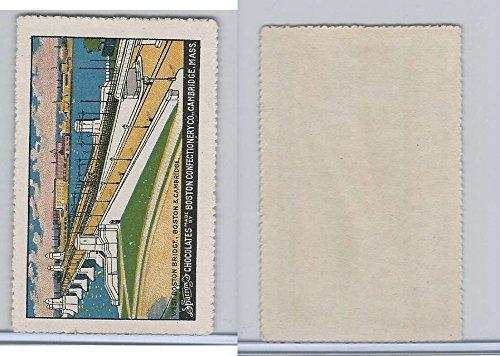 E279 Sparrow's Chocolate, Boston Scenes, 1910, West Boston Bridge ()