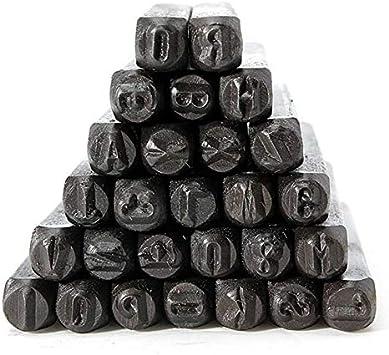 noir SENRISE Lot de 9//27 poin/çons en m/étal avec /étui pour bricolage artisanal