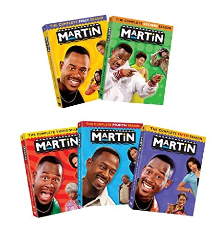 Martin: The Complete Five Seasons (Martin Lawrence Comedy Dvd)