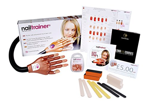 Nail Trainer Practice Hand - Multi Language by Nail Trainer