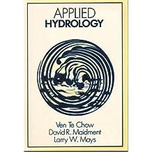 Applied Hydrology