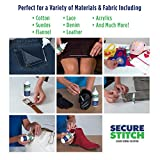 Secure Stitch Liquid Sewing Solution Kit! Fabric