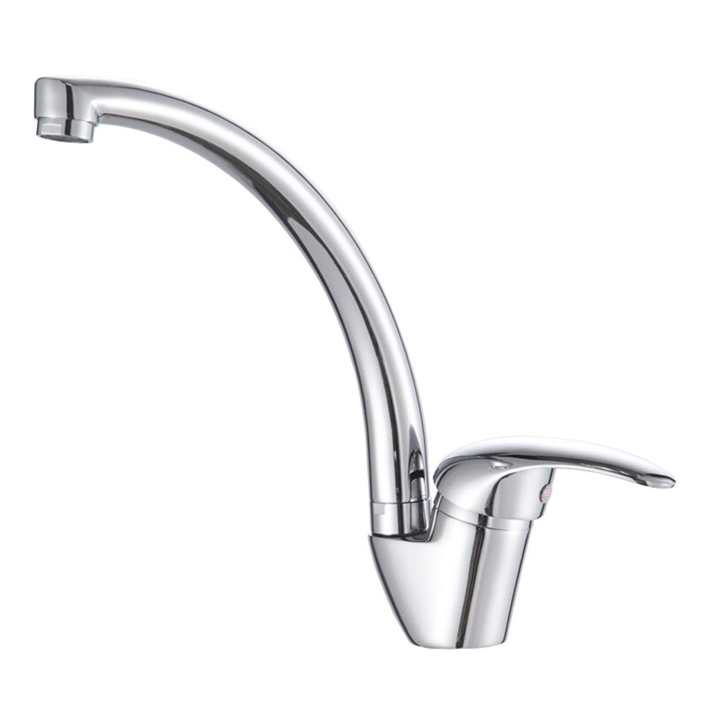 Yxx max Bathroom Kitchen Basin Mixer Wash Basin Sink Faucet Hot and Cold Water Faucet