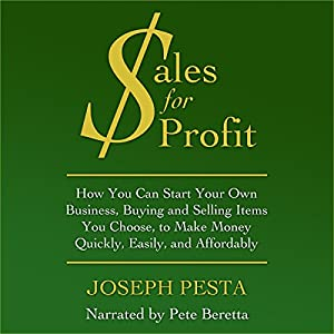 Sales for Profit Audiobook