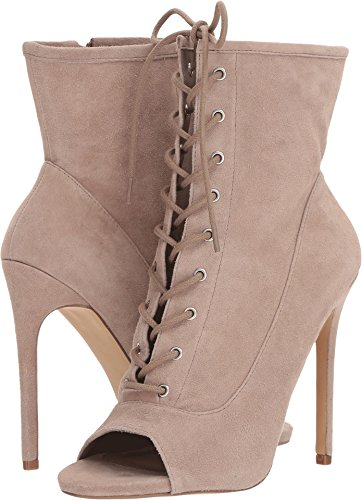 Steve Madden Women's Saint Fashion Boot, Taupe Suede, 9.5 M US