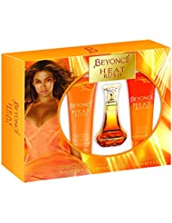 Beyonce Heat Rush 3 Piece Fragrance Set
