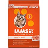 Iams PROACTIVE HEALTH Adult Original With Chicken Dry Cat Food, (1) 22 Pound Bag, Real Chicken in Every Bite