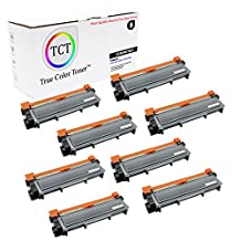 TCT Premium Compatible TN660 High Yield Black Toner Cartridge 8 Pack - 2,600 yield- Replaces Brother TN-660, works with the HL-L2300,L2320,L2340,L2360, DCP-L2500,L2520, MFC-L2700,L2720,L2740