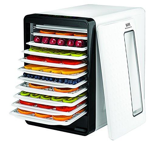 WOODMAYA Smart Food Dehydrator with 10 Drying Trays - Digita