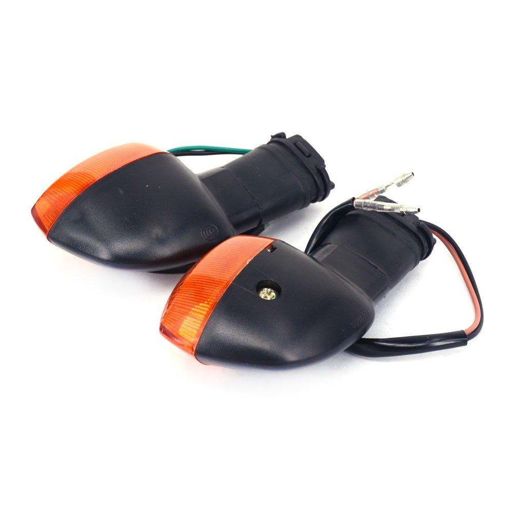 Fast Pro Indicador de Giro r/ápido para Motocicleta Luces Intermitentes para BMW F 650GS 800GS 800R 800S 800 ST HP2 Enduro Megamoto Sport K 1200R 1200S R 1200GS 1300R