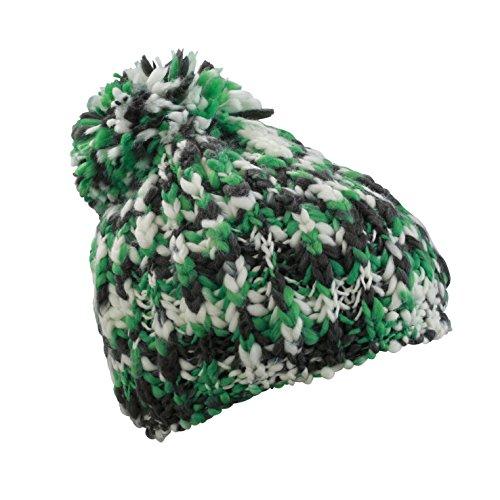 Talla Myrtle para Gorro talla color Verde hombre Knitting Mütze Beach Coarse Beige única Hat CwCqfUS