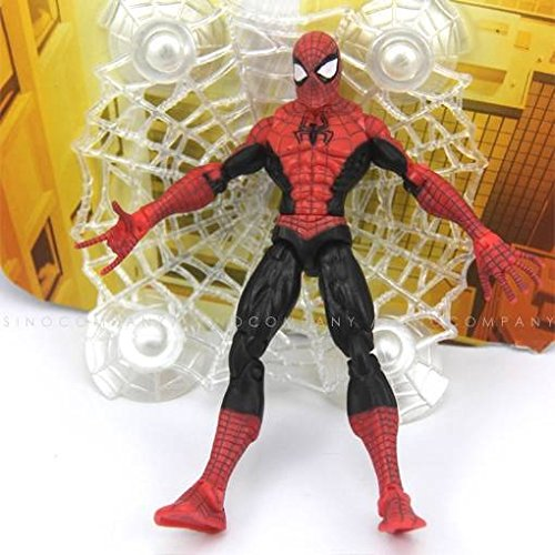 [New Super Heroes Spider man Marvel 6in.Action Figure Classics Toy Boys Kids Gift] (Daredevil Costumes Replica)