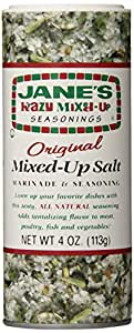 Jane's Krazy Mixed Up Salt, 4-Ounce Unit (Pack of 12)