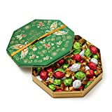 #3: Godiva Chocolatier Limited Edition Holiday Gift Tin, Assorted Wrapped Chocolate Truffles, 50 Piece