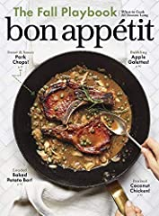 """Bon Appétit focuses on what's """"now"""" in the world of food, drink, and entertaining, while still giving readers valuable cooking tools, tips, and most of all, recipes. The only food lifestyle publication on the market, Bon Appétit looks at life..."""