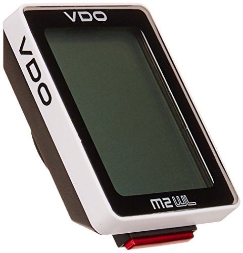 VDO M2 Wireless Extra Durable LARGE digits on the display multiple functions Automatic start-stop Bike Cycling Computers (Bicycle Vdo Computer)