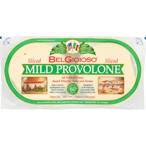 BelGioioso Mild Provolone Cheese, Sliced, 2 lbs (Pack of 3) by BelGioioso (Image #1)