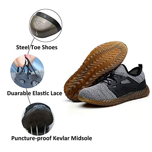 c0bd00e44697 Finders | SUADEX Indestructible Steel Toe Shoes Men Women, Work ...