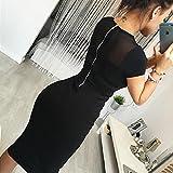 fanmuran Cultivar una moral de la moda falda cierre trasera lápiz fiesta noche mini vestido S, L