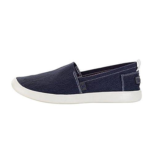 Dude Shoes Women's Capri Red Stretch Slip On UK3 / EU36 NX7S2ZQoU