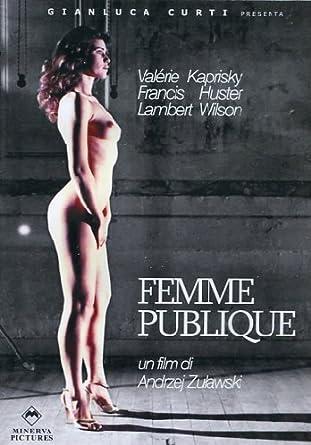 Femme publique: Amazon.it: Valérie Kaprisky, Francis Huster ...