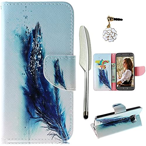 S7 Case,Galaxy S7 Case, MOLLYCOOCLE Stand Wallet Premium PU Leather Kickstand Magnetic Closure Credit Card Holders TPU Bumper Flip Folio Sales