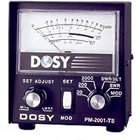 Dosy PM 2001 TS SWR Power Cb Ham Radio Wattmeter Test Center Station