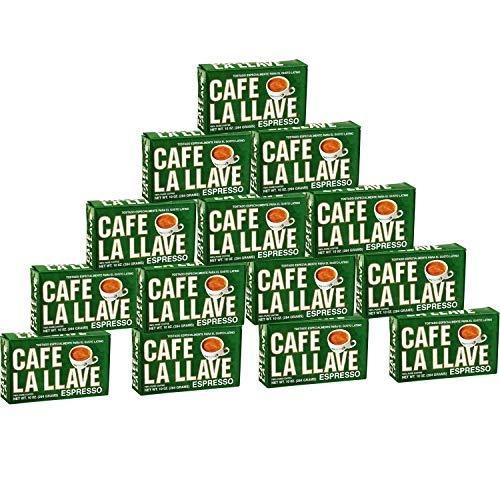 Cafe La Llave (14 Pack) 10 Oz Coffee Ground by La Llave (14k Brick)