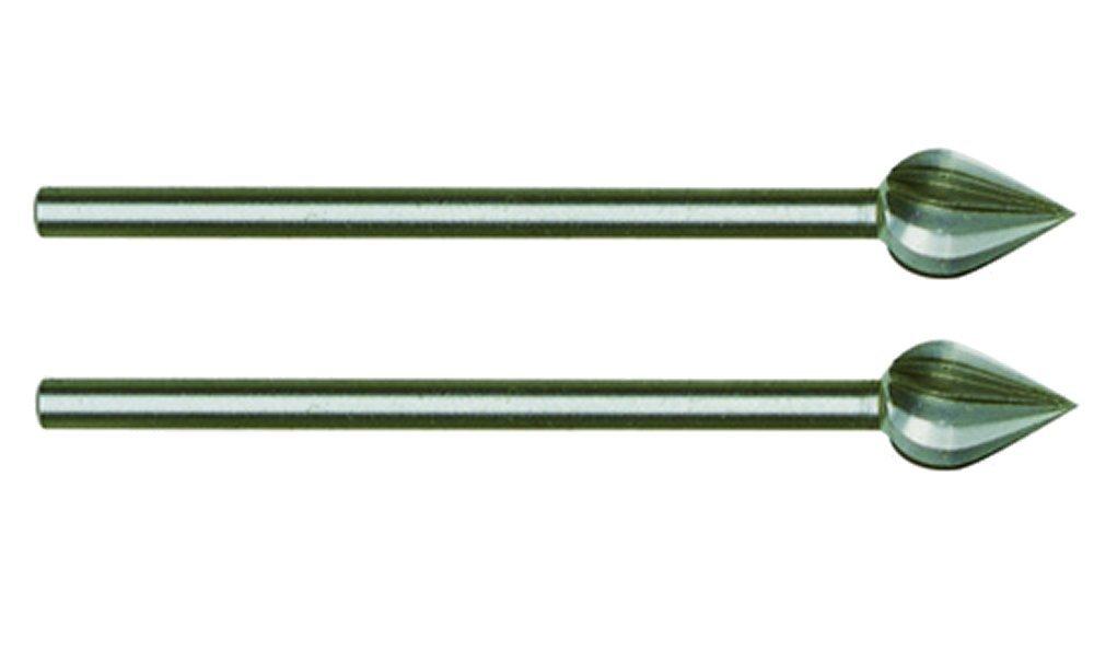Salki -Proxxon 2228724 - Juego 2 fresas cabeza oval 6 mm