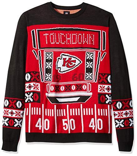 4b504efd06b Kansas City Chiefs Ugly Sweaters. FOCO NFL Kansas City Chiefs Mens ...