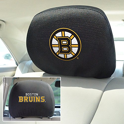 FANMATS NHL Boston Bruins Polyester Head Rest Cover