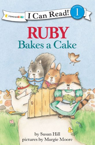 Ruby Bakes a Cake (I Can Read! / Ruby Raccoon)