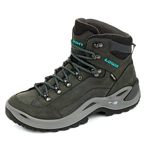 Lowa Renegade GTX Mid (310945-4285) - Scarponcini da trekking, (Grigio antracite scuro), 36.5