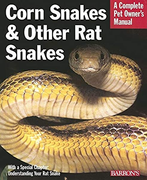 Corn Snakes Other Rat Snakes Complete Pet Owner S Manuals Bartlett Patricia Bartlett R D 9780764134074 Amazon Com Books