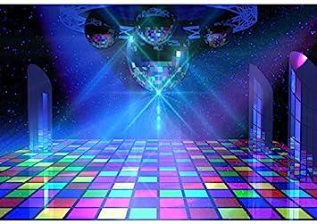 Amazon Com Baocicco 12x10ft Disco Party Backdrop Disco Interior Scene Dance Hall Floor Lights Photography Background Entertainment Venues Ktv Ballroom Dance Party Theme Birthday Party Girls Portrait Camera Photo