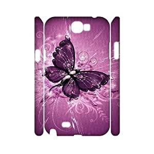 ALI Hard Butterfly 3D Diy For Ipod Touch 5 Case Cover [Pattern-1]