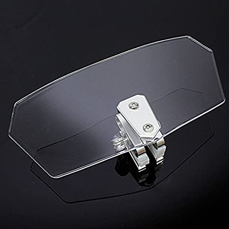 XX eCommerce Motorcycle Motorbike Adjustable Clip On Windshield Extension Spoiler For BMW R1200GS R1200RT F800GS clear
