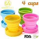Best Collapsible Cups - Gouda Select Collapsible Cups Camping Cups - Light Review