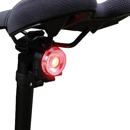 Abilieauty, luz Trasera LED para Bicicleta con USB, luz de Freno Inteligente de inducción, luz Trasera para Bicicleta de montaña: Amazon.es: Hogar