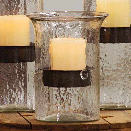 BLACK FOREST DECOR Glass Mountain Candle Holder - Small