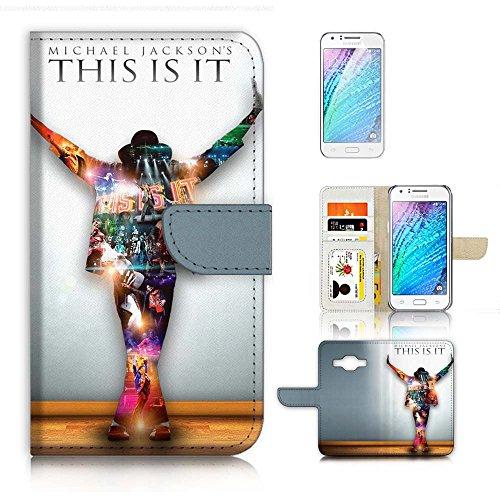 ( For Samsung Galaxy Core Prime ) Flip Wallet Case Cover & Screen Protector Bundle - A21043 Michael - Michael Core