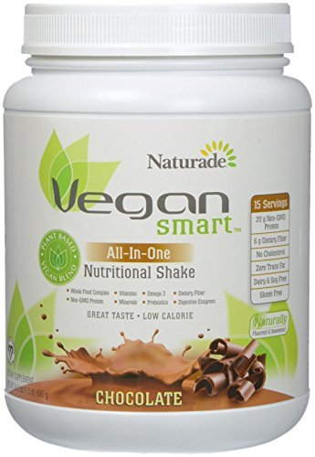 Naturade Naturade Vegansmart All-in-One Nutritional Shake, Chocolate, 24.3 Ounce by Naturade