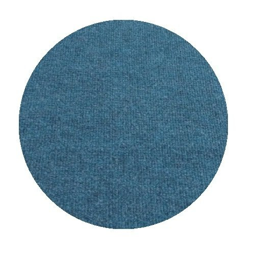 6' Round - OCEAN BLUE - ECONOMY INDOOR / OUTDOOR CARPET Patio & Pool Area Rugs |Light Weight INDOOR / OUTDOOR Rug - EASY Maintenance - Just Hose Off & Dry! - 10 Colors to Choose From (Round Indoor Outdoor Rugs Sale)