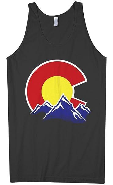 1b9a1db75bc0c Amazon.com  Threadrock Men s Colorado Mountain Tank Top  Clothing