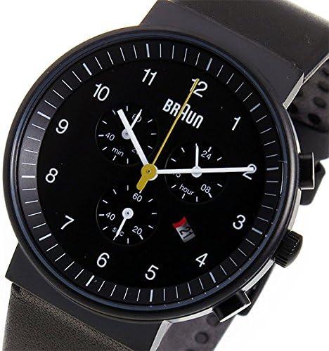 ブラウン BRAUN クロノ クオーツ メンズ 腕時計 BN0035BKBKG ブラック 腕時計 海外インポート品 その他メンズ[輸入品] mirai1-518129-ak [並行輸入品] [簡易パッケージ品]