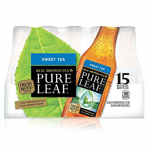 Pure Leaf Real Brewed Sweet Tea, 15 pk./18.5 oz. (pack of 6) by Pure Leaf