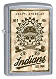 Zippo Custom Lighter: Native American Indians - Street Chrome 79038