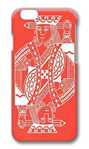 Zheng caseApple Iphone 6 Case,WENJORS Cool Creativity Is King Hard Case Protective Shell Cell Phone Cover For Apple Iphone 6 (4.7 Inch) - PC 3D