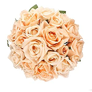 Artificial Peony Hydrangea 5 Heads Artificial Fake Flowers for Bridal Bouquet DIY Home Decor Artificial Wedding Decor Silk Flower Arrangement 35